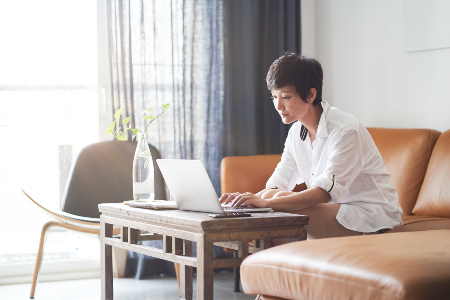 Woman Working From Home Remote Working Istock 1150689058