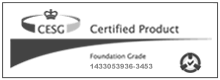 UPDATE Cesg Certified Product Logo With Border 80Pxh B&W